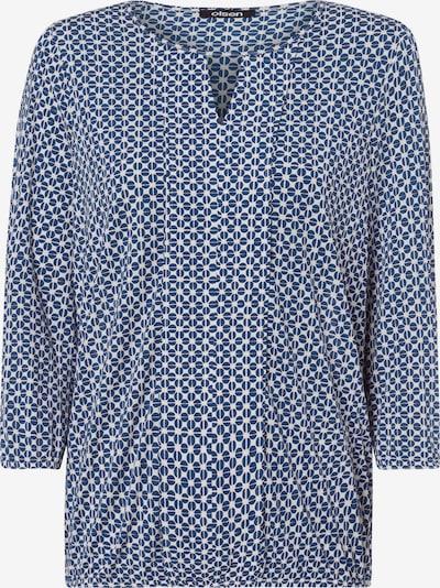 Olsen Shirt in navy / weiß, Produktansicht