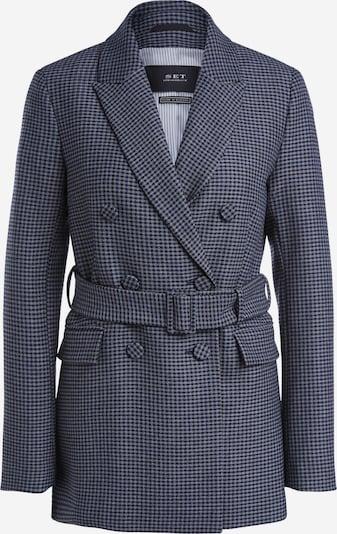 SET Blazer in grau / dunkelgrau, Produktansicht