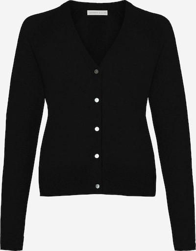 Cashmere Stories Strickjacke in schwarz, Produktansicht