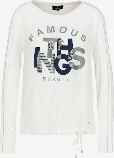 monari Shirt in dunkelblau / grau / weiß, Produktansicht