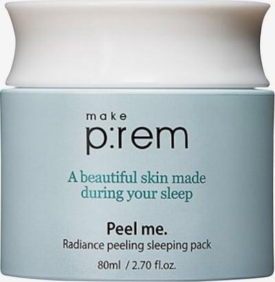 Make p:rem Nachtpflege 'Radiance Peeling Sleeping Pack' in weiß, Produktansicht