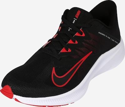 NIKE Laufschuh 'Nike Quest 3' in rot / schwarz, Produktansicht
