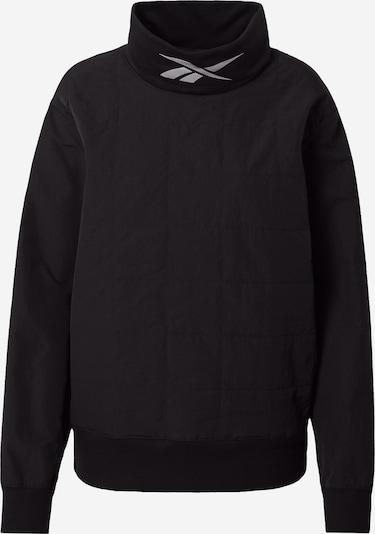 REEBOK Sportsweatshirt in schwarz, Produktansicht