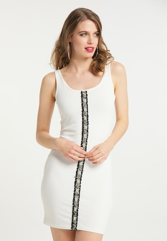 faina Summer Dress in White