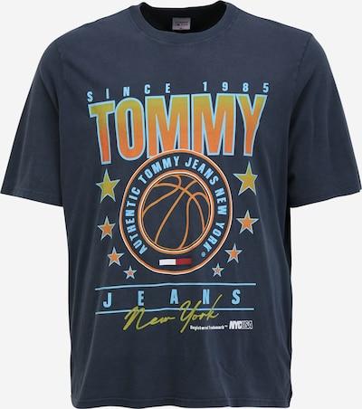 Tommy Jeans Plus Majica u mornarsko plava / svijetloplava / žuta / narančasta, Pregled proizvoda