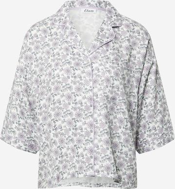 Bluză de noapte 'MADDLYN' de la ETAM pe mov