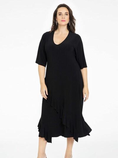 Yoek Kleid ' Dolce ' in schwarz, Modelansicht