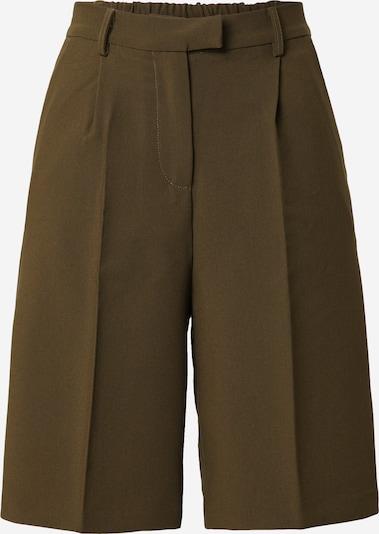 Fashion Union Панталон с ръб 'TAI' в Каки, Преглед на продукта