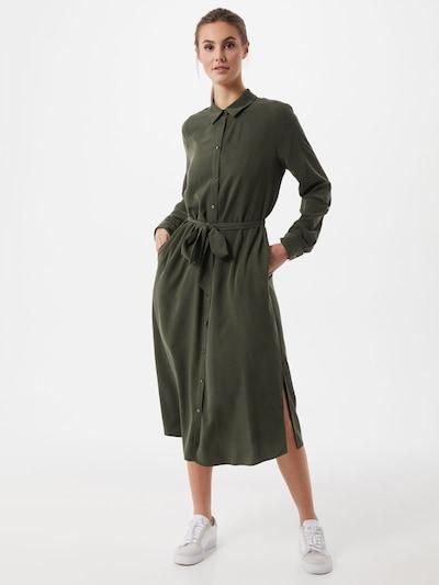 Palaidinės tipo suknelė iš s.Oliver , spalva - rusvai žalia, Modelio vaizdas