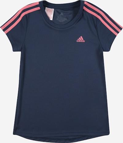 ADIDAS PERFORMANCE Camiseta funcional en azul oscuro / rosa claro, Vista del producto