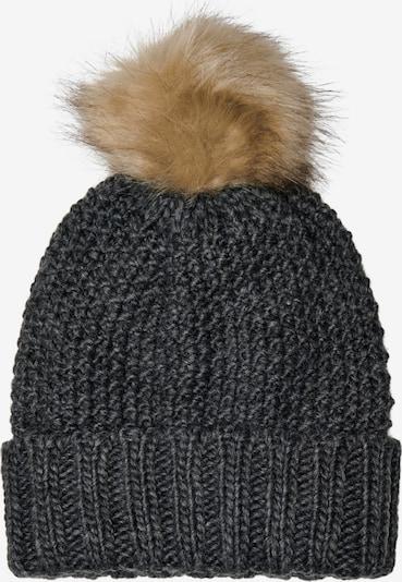KIDS ONLY Cepure 'ISABELLA', krāsa - gaiši brūns / antracīta, Preces skats