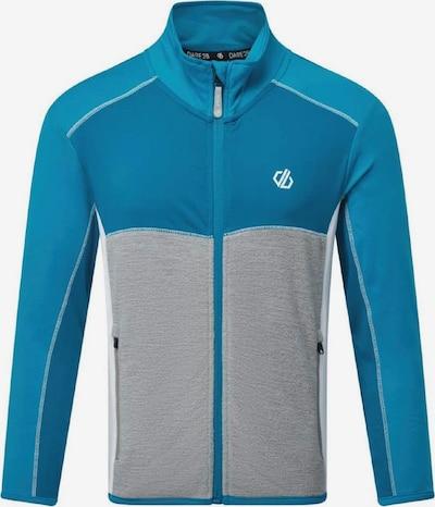 DARE 2B Athletic Zip-Up Hoodie in Blue / Grey / White, Item view
