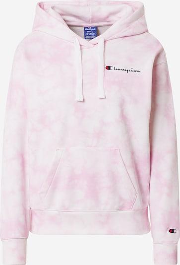 Champion Authentic Athletic Apparel Sweatshirt in rosa / weiß, Produktansicht
