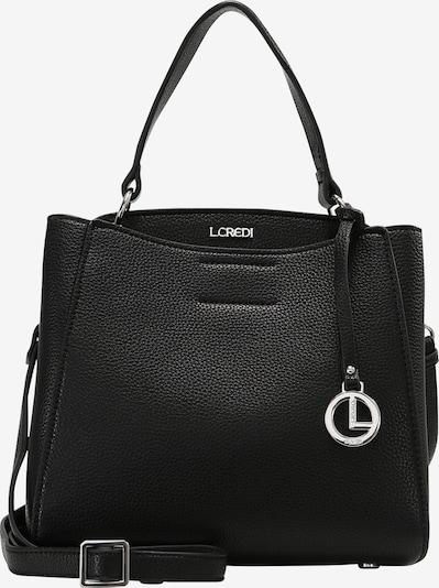 L.CREDI Hobo Fabienne Hobo in schwarz, Produktansicht