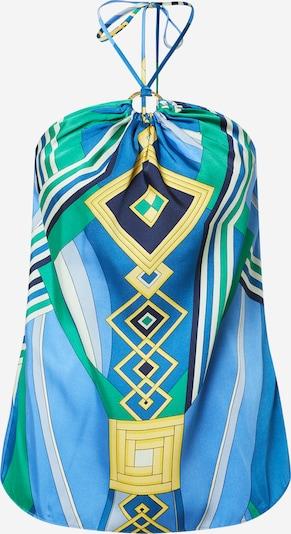 Lauren Ralph Lauren Haut 'SATARA' en bleu / mélange de couleurs, Vue avec produit