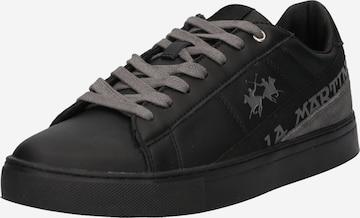 La Martina Platform trainers in Black