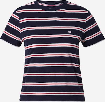 Tommy Jeans Shirt in dunkelblau / rot / weiß, Produktansicht