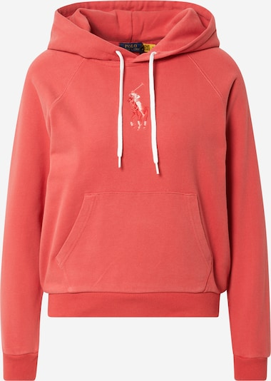 Polo Ralph Lauren Μπλούζα φούτερ σε ανοικτό κόκκινο / λευκό, Άποψη προϊόντος