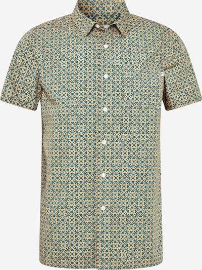 Wemoto Hemd 'Dustin' in dunkelblau / gelb, Produktansicht