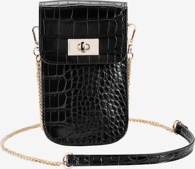 HALLHUBER Handy-Schultertasche in schwarz, Produktansicht