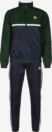Sergio Tacchini Trainingsanzug 'Alabama' in nachtblau / grün / weiß, Produktansicht