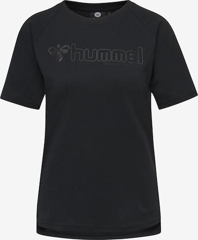 Hummel Functioneel shirt in de kleur Zwart gemêleerd, Productweergave
