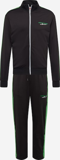 MASKULIN Jogginganzug 'Carolina' in neongrün / schwarz, Produktansicht