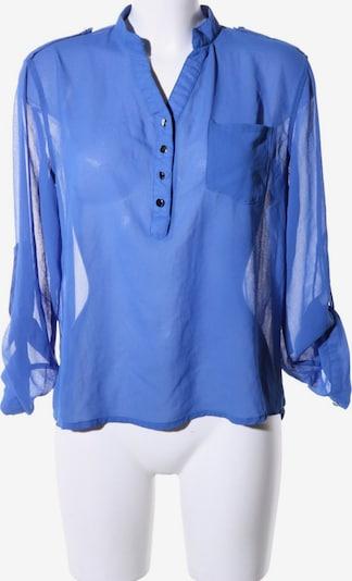 Zanzea Transparenz-Bluse in XXL in blau, Produktansicht
