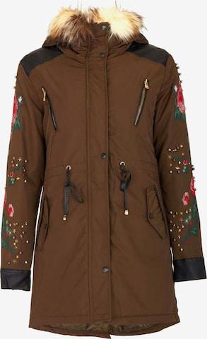 CIPO & BAXX Between-Season Jacket in Brown