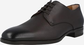 BOSS Casual Обувки с връзки 'Kensington' в кафяво