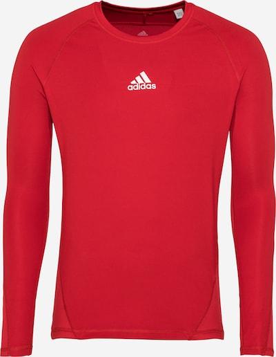 ADIDAS PERFORMANCE Funkční tričko - červená / bílá, Produkt