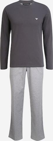 Emporio ArmaniDuga pidžama - siva boja