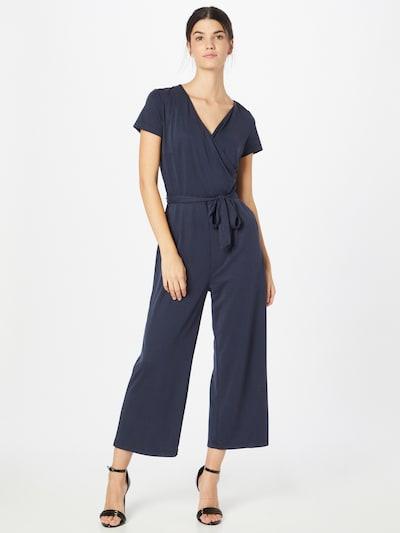 MORE & MORE Jumpsuit in dunkelblau, Modelansicht
