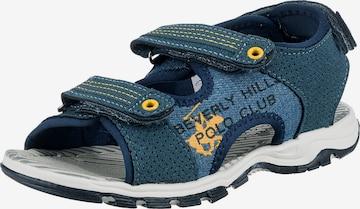 Beverly Hills Polo Club Sandale in Blau