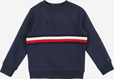 Bluză de molton TOMMY HILFIGER pe bleumarin / roșu / alb, Vizualizare produs