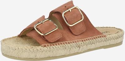 espadrij l´originale Pantolette 'Claquette' in hellbraun, Produktansicht