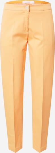 Pantaloni cu dungă 'Maron' BRAX pe portocaliu deschis, Vizualizare produs