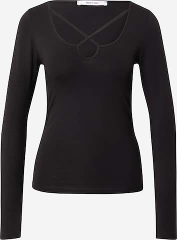 ABOUT YOU Shirt 'Valerie' in Black
