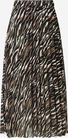 Sublevel Spódnica w kolorze brązowy / zielony / białym, Podgląd produktu