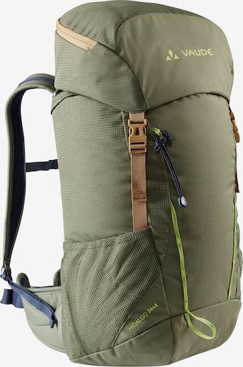 VAUDE Sportrucksack in hellbraun / grau / oliv, Produktansicht