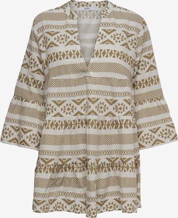 Only Petite Рокля тип риза 'ONLLUCCA ATHENA' в бяло