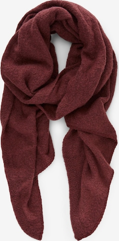 PIECES Scarf 'Pyron' in Red