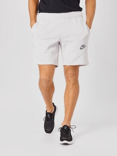 Nike Sportswear Hlače u crna / bijela, Prikaz modela