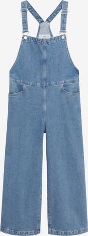 MANGO Jean Overalls 'Ares' in Blue