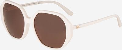 Michael Kors Sonnenbrille '0MK2138U' en braun / weiß, Vue avec produit