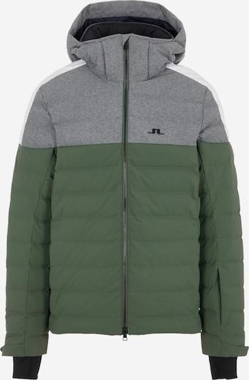 J.Lindeberg Outdoorjas in de kleur Groen, Productweergave