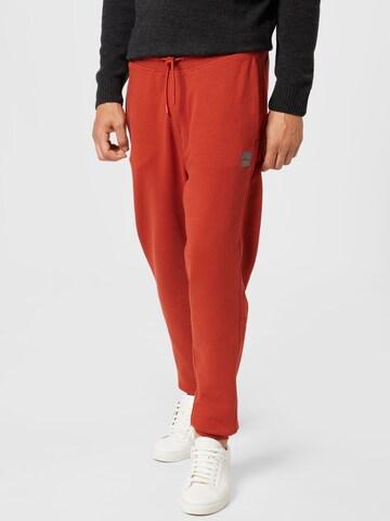 BOSS Casual Püksid 'Sestart 1', värv punane