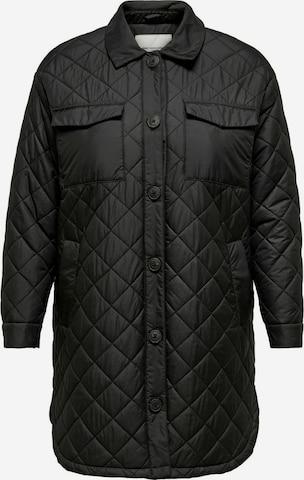 ONLY Carmakoma Overgangsjakke 'Tanzia' i svart