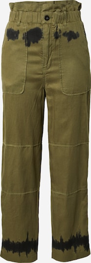 REPLAY Hose in khaki / schwarz, Produktansicht
