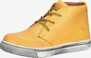 COSMOS COMFORT High-Top Sneakers in Yellow